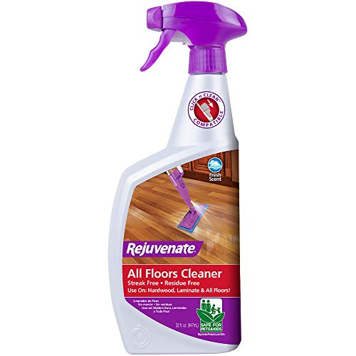 Rejuvenate High Performance All-Floors No Bucket Needed Floor Cleaner Powerful PH Balanced Shine with Shine Booster Technology Gold Certified for Low VOC Best in Class Products 1 Gallon