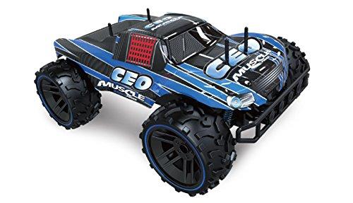 Amewi 22282 Fahrzeug Smasher Blue M1:8 Monstertuck, 2,4GHz, RTR, blau
