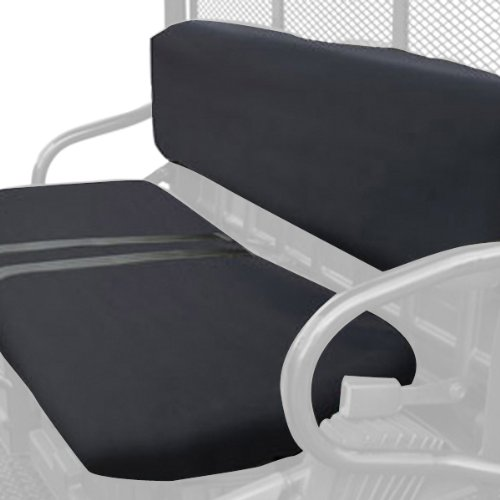 Classic Accessories QuadGear UTV Seat Cover (Black, Fits Polaris Bench)