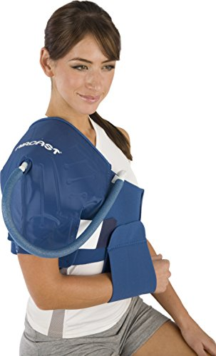 DonJoy Aircast Cryo/Cuff Cold Therapy: Shoulder Cryo/Cuff with Non-Motorized (Gravity-Fed) Cooler, X-Large