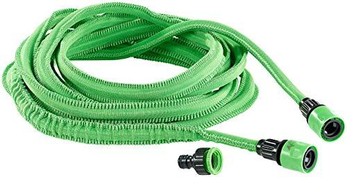 Royal Gardineer Wasser Schrumpfschlauch: Dehnbarer Gartenschlauch PRO.V2, 5 bis 15m (Gartenschlauch Schrumpfschlauch)