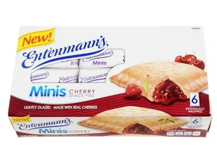 Entenmann#039s  Box of Mini Apple Pies and Box of Mini Cherry Pies