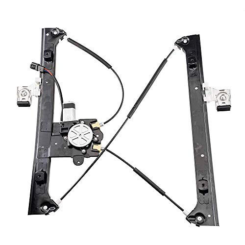 Drivers Rear Power Window Lift Regulator with Motor Assembly Replacement for GMC Buick Chevrolet SUV 15893782