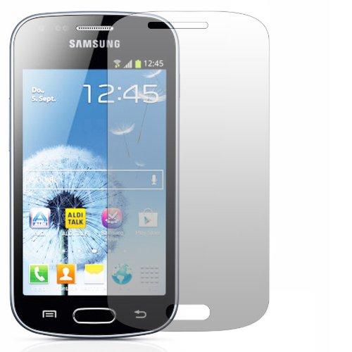 Slabo 2 x protector de pantalla para Samsung Galaxy Trend GT-S7560 lámina protectora de pantalla Ultra Transparente invisible