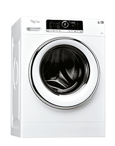 Whirlpool FSCR90422, Lavatrice a Carica Frontale a Libera Installazione, A+++-40%, 9kg, 11 Programmi, 1400 Giri/Min, Bianco