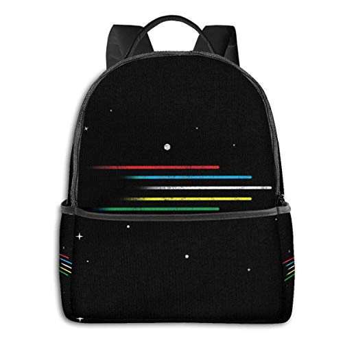 IUBBKI Mochila lateral negra Mochilas informales Let'S Go Voltron Force! Student School Bag School Cycling Leisure Travel Camping Outdoor Backpack