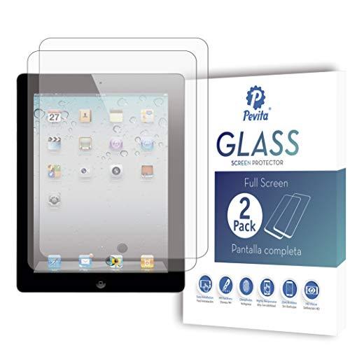 Pevita Protector de Pantalla Compatible con iPad 1, 2, 3, 4 [2...
