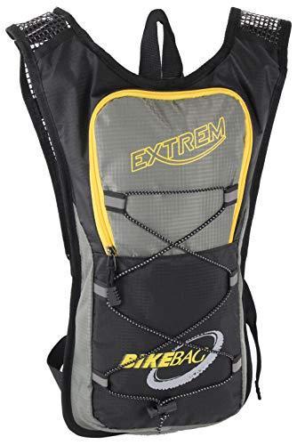 Bag Street International - Mochila para bicicleta muy ligera, acolchada, con correa de pecho, ergonómica, para exteriores, impermeable