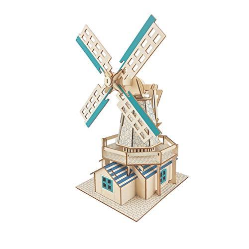 SGLMYD 3D-Puzzles for Kinder im Alter von 4-8 10year Alte Kunst und Handwerk for Mädchen und Jungen Spaß Educational Gemälde Crafts Kit