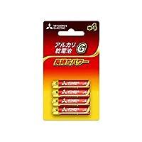 三菱電機 乾電池 アルカリG アルカリ乾電池 単4形 4本パック LR03GD/4BP