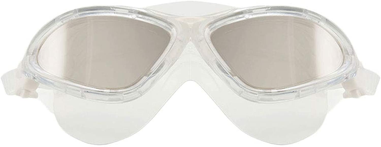 HAOHAOWU Wide-Field Swimming Goggles, Fashion Swimming Goggles Waterproof Anti-Fog Professional Plating Unisex