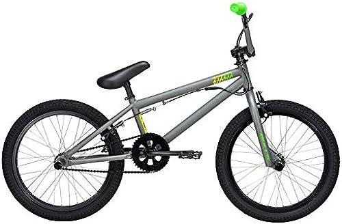 Kinder BMX Rad 20 Zoll grau - Bulls Fahrrad Barbar - Kenda Bereifung, 1-Gang Singlespeed