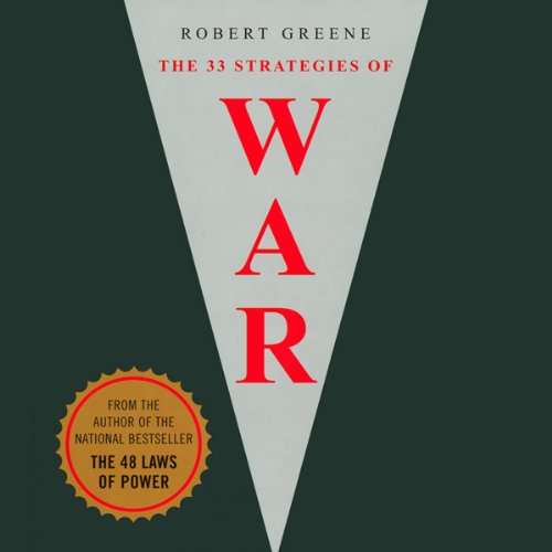 The 33 Strategies of War audiobook cover art