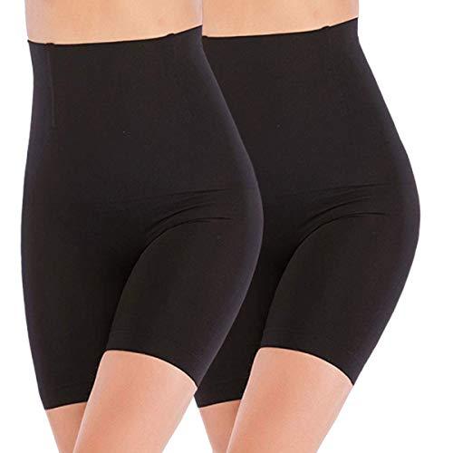 ANGOOL Cintura Alta Faja Tanga Braguitas Body Moldeador Abdomen Invisible Shapewear Faja Reductora Adelgazantes para Mujer ✅