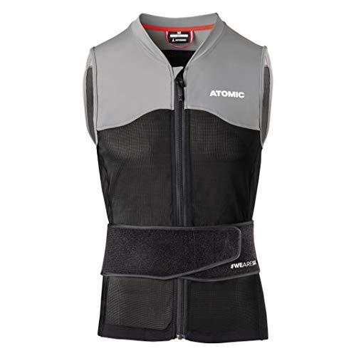 ATOMIC Herren Live Shield Vest M Ski-Protektor-Weste, black/grey, M