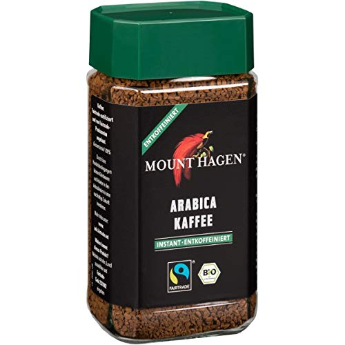 Mount Hagen Mount Hagen Instant-Kaffee, entkoffeiniert (100 g) - Bio