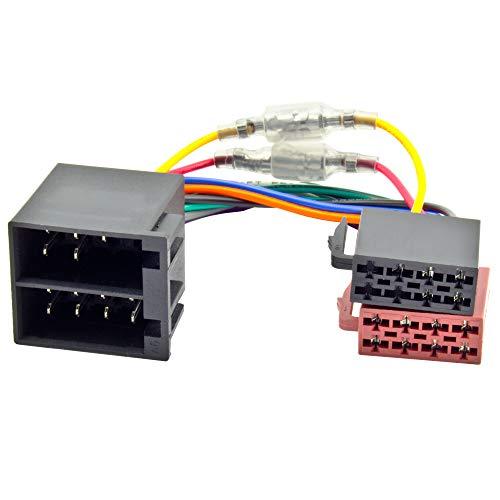 Watermark WM-4686 Radio Adapter Autoradio Adapterkabel ISO Buchse Stecker