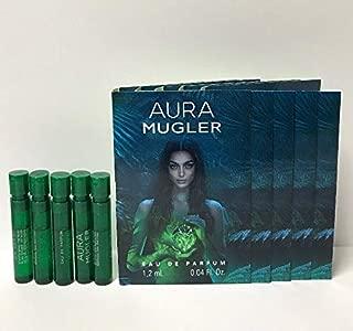 5 Mugler_Aura Eau de Parfum Women Spray Vial Sample 0.04 oz/1.2 ml