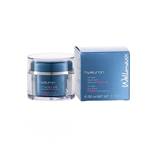 Wellmaxx hyaluron anti-age day & night absolute cream rich, 50ml