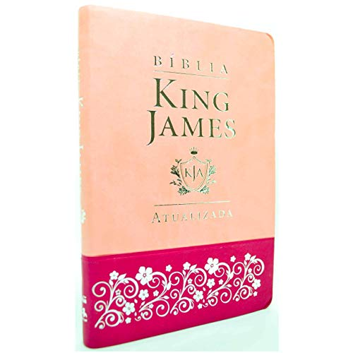 Bíblia King James Atualizada Slim | Kja | Rosa