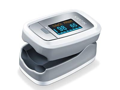 Sanitas SPO 25 - Oxímetro de pulso (cálculo de la saturación de oxígeno y de la frecuencia del corazón)