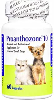 Virbac Proanthozone 10mg for Cats and Small Dogs 60 Caps