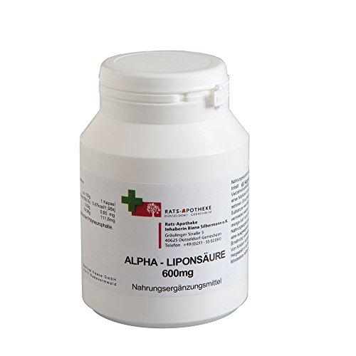 Alpha-Liponsäure 600mg 60 Kap. biol. aktive DL- Formel, Made in Germany