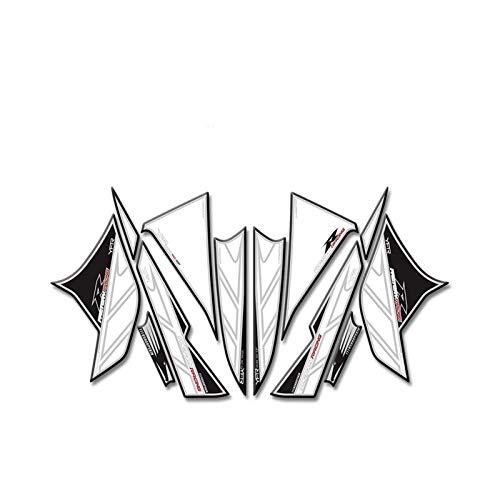 Calcomanías de carnicería del frente de la motocicleta del gel 3D Kit de etiqueta engomada para Yamaha yzf R6 R6R 2008-2016 R 6 R Motor Motor Calcomanías Accesorio Pegatinas
