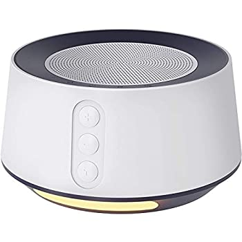 Letsfit White Noise Machine with Adjustable Baby Night Light for Sleeping 14 High Fidelity Sleep Machine Soundtracks Timer and Memory Feature Sound Machine for Baby Adults Home and Office