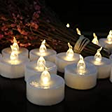 Tea Lights,50 Pack Flameless LED Candles Battery Operated Tealight Candles(Warm White) Flicker Long Lasting Tealight for Wedding Holiday Party Home Decoration ceiling fans with a lights May, 2021