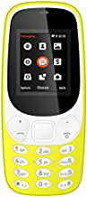 MTR Dual Sim 1.8 Lcd Screen Phone with 3.5 mm Audio Jack (Yellow Colour)