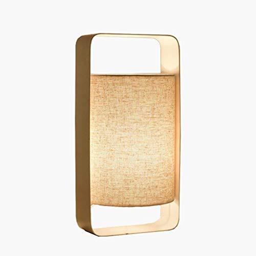 CENPEN Lámparas de Mesa, Personalidad Simple Moderna Minimalista Dormitorio de la lámpara de Noche, Las Luces de Artes Creativas de Tela nórdica Personalidad de la Manera Decorativa lámparas de Mesa,