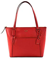 Túi xách nữ Kate Spade New York Cameron Pocket Womens Saffiano Leather Tote (Amazon)