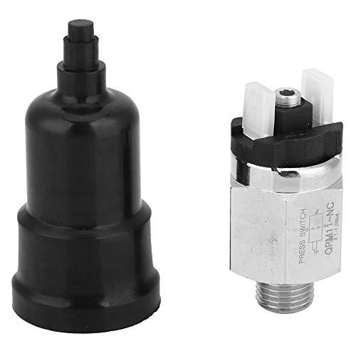 Pressostato aria G1/4'Pressostato regolabile Pressostato NC compressore d'aria integrato