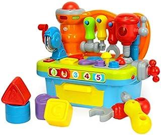 PrimeToy Banco de trabajo musical para bebé de 18 meses