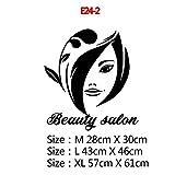 Belle Phrase vinyle Stickers muraux pour Salon de beauté Salon de Coiffure autocollant décoratif Mural Papier peint Stickers muraux décoration murale