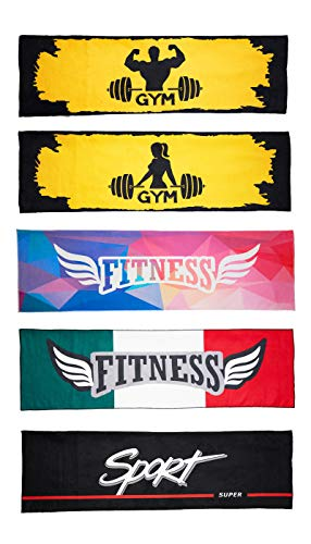 Toalla de gimnasio de microfibra Sport Fitness Gym Made in Italy (Sport)