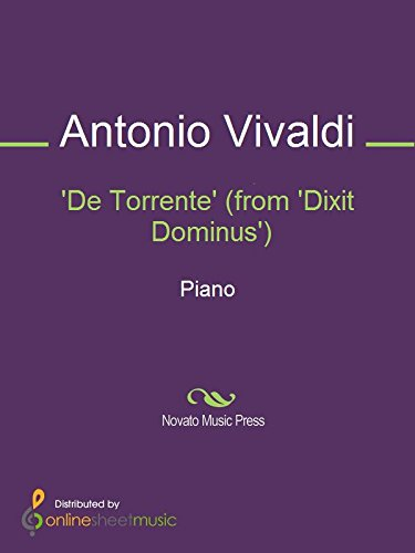 De Torrente (from Dixit Dominus) (English Edition) eBook: Antonio Vivaldi: Amazon.es: Tienda Kindle