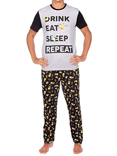 The Simpsons Pijama para Hombre Los Simpsons Homer