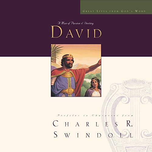 Great Lives: David Audiobook By Charles R. Swindoll cover art