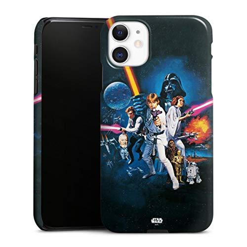 DeinDesign Premium Case kompatibel mit Apple iPhone 11 Smartphone Handyhülle Hülle glänzend Fanartikel Star Wars Episode IV