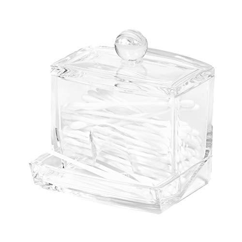 Compactor Rangement Organisateur cosmétiques & bijoux, Transparent, 9,3 x 8 x H 9,9 cm, RAN8568