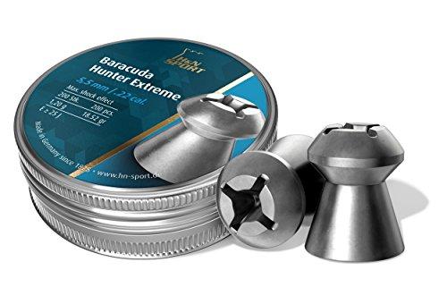 H&N Sport H&N Baracuda Hunter Extreme 5,50 mm Diabolo/Balines - Munición para Arma de aire comprimido