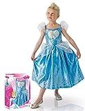 Disney - 155018s - Disfraces para Niños - El amor del Corazón Cinderella Deluxe Set - Talla S