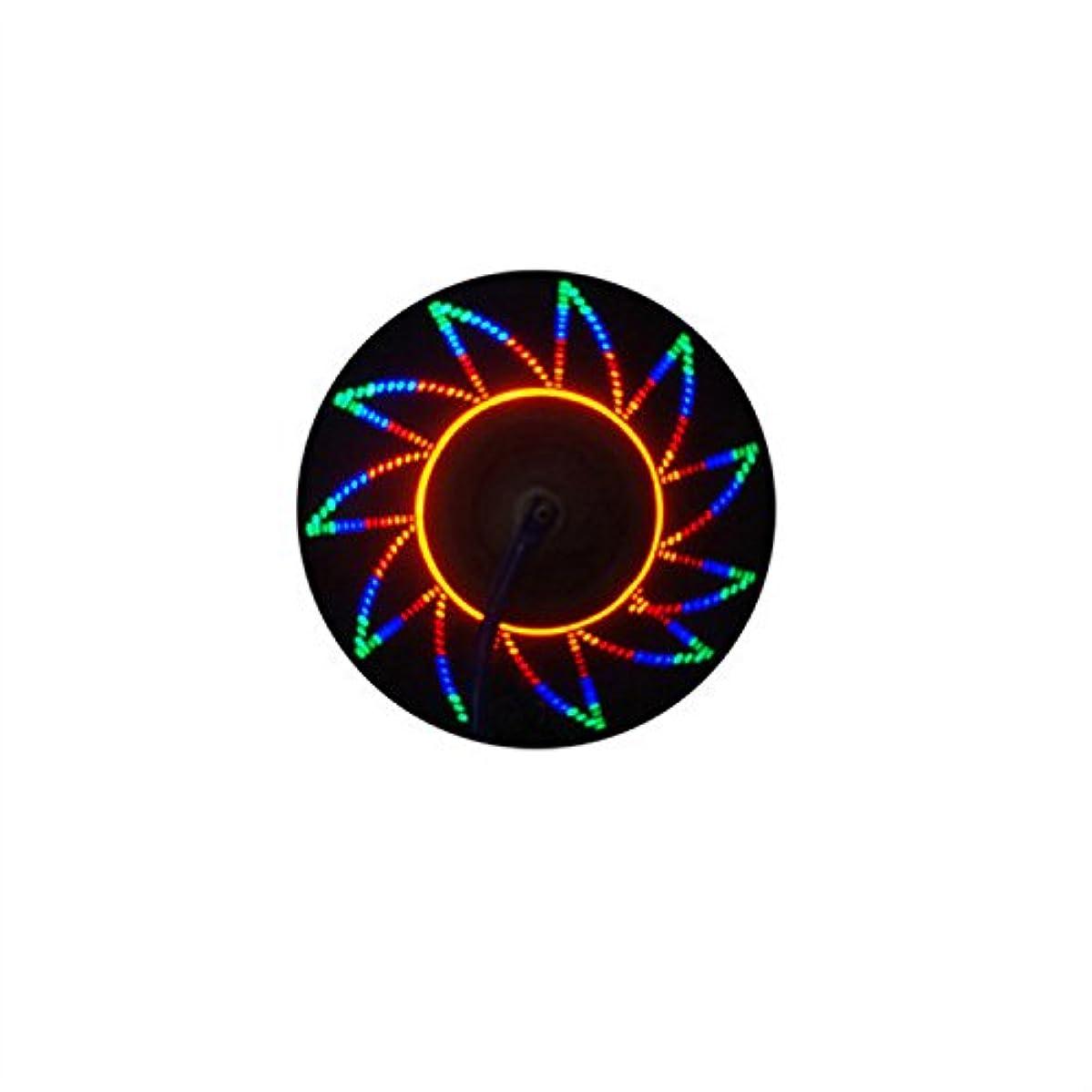 お風呂を持っている安全有毒Ligangam 自転車ホイールライト ランプ LEDスポークライト サイクル用デコレーションランプ 夜道安全&事故防止 取付簡単 32つの模様変化 3秒間 防水IP55 オシャレ ユニーク 人気