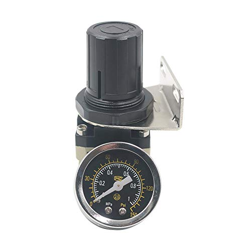 Domybest AR2000-2 Régulateur de Pression d'air Compresseur de Contrôle d'air Détendeur Raccords de vanne