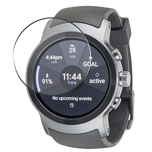 Vaxson 4 Stück Schutzfolie, kompatibel mit LG watch Sport, Bildschirmschutzfolie TPU Folie [nicht Panzerglas]