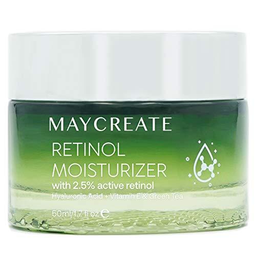 Creip Retinol Cream Moisturiser With Retinol, Anti-aging Wrinkle Night&Day...