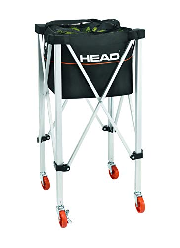 HEAD Tennis Teaching Trolley – Training & Practice Tennis Ball Travel Cart – Holds 120 Balls