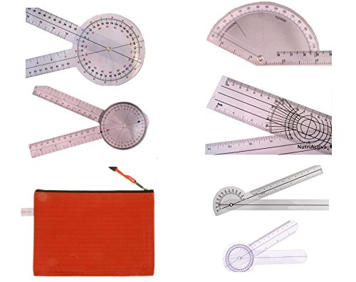 AnthroFlex Goniometer Set of 6 with Transport Bag